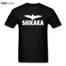 Ace Ventura Shikaka film t-shirts noir chevalier noir Batman capitaine Marve héros Spriderman Superman Cool t-shirt hommes(China)
