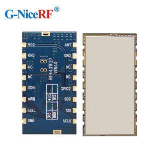 Image 3 - Free Shipping 5pcs/lot RF4432F27 500mW SPI Interface Embedded Anti interference FSK/GFSK/OOK 433MHz RF Module