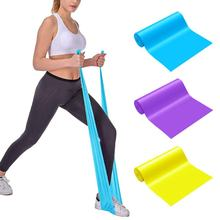 Yoga Exercise Gym Strength Resistance Rubber Bands Pilates Sport Training Workout Elastic Bands Indoor Outdoor Fitness Equipment
