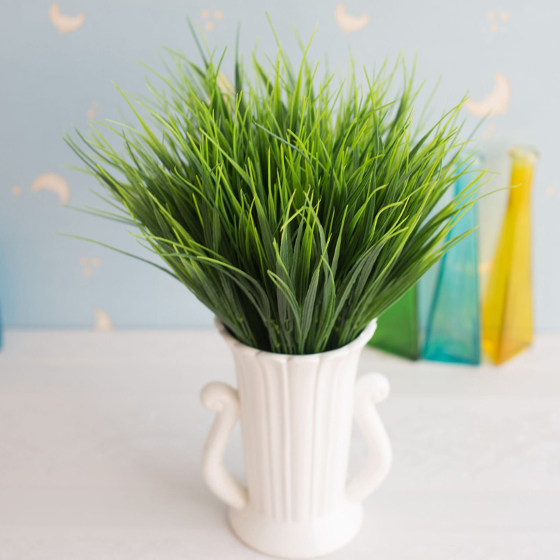 7 Branches Artificial Asparagus Fern Grass Plant Flower Home Floral Decor 2017+