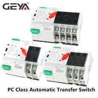Gran promoción interruptor de transferencia automática W2R Mini ATS interruptor de alimentación doble ATS 2P 3P 4P 16A 20A 25A 32A 40A 50A