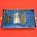1 комплект хирургических инструментов для офтальмологической и катаракты  футляр