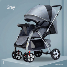 Portable Two-way Baby Stroller Newborn Travel Pram Folding Baby Carriage Infant Pushchair 0-6 Years Old
