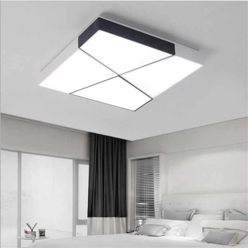 Thresh геометрический квадратный геометрический потолочный светильник 110 В 220 В светодиодный Диммируемый 48 Вт современный светодиодный светильник s для спальни комнаты светильник ing