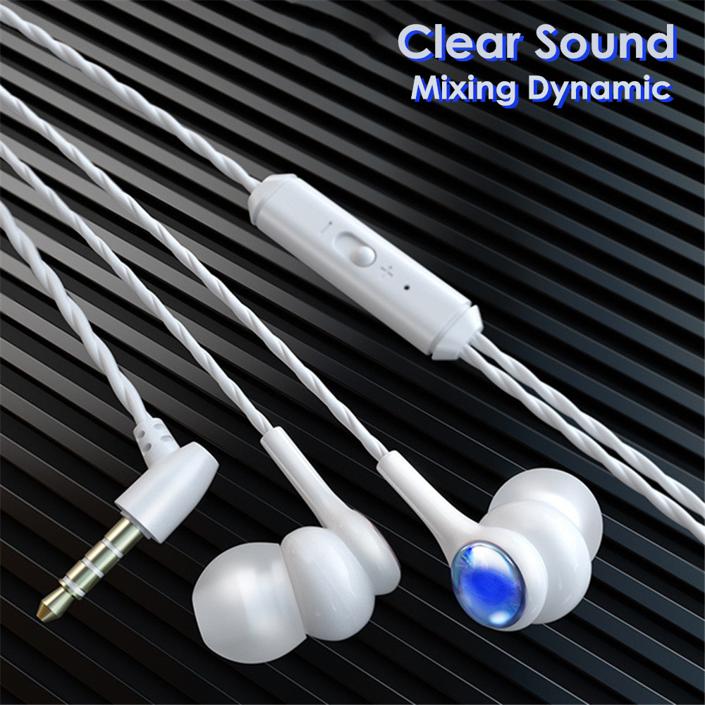Clear Sound Mixing Dynamic Headphones Android Mobile Phone Headset 3 5mm In Ear Wired Earphone For Samsung Lg Headphone Earbuds Phone Earphones Headphones Aliexpress