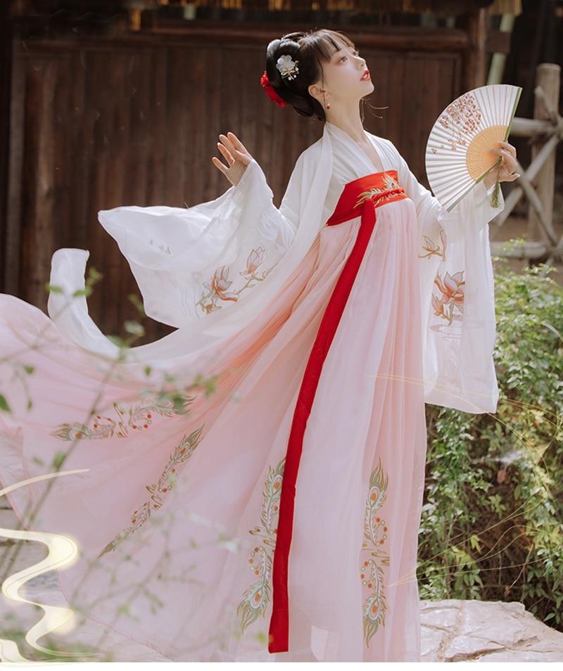 Moderno hanfu las mujeres trajes Hanfu Vintage antiguo chino hanfu vestido de las mujeres de rol mujer carnaval Halloween Cosplay hanfu traje