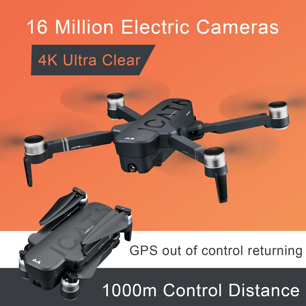 cheapest Profession Drone 4K 16MP FPV WIFI Transmission HD Camera Optical flow Hover Rc Helicopter Quadcopter Helicopter with Camera