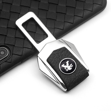 Car Safety Buckle Clasp Insert Plug Clip Car Seat Belt Card Buckle For Peugeot 206 207 307 3008 2008 308 408 508 301 208
