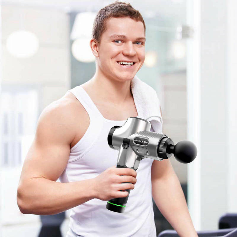 Muscle-Massage-Gun Vibration Fitness-Equipment Deep-Tissue Electric-Body for Pain-Relief