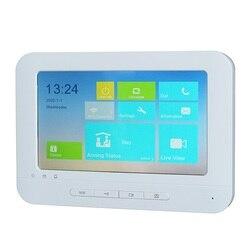 Hik Multi-Taal DS-KH1310-AL Touch Indoor Monitor, Telefoon App P2P, Ip Deurbel Monitor, video Intercom Monitor, Ingebouwde Wifi