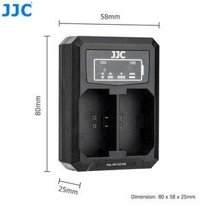Image 5 - Зарядное устройство JJC для Sony A9 A7III A7RIV A7RIII A7M3 A7RM4 A7RM3 A7 Mark III A7R Mark IV III, заменяет BCQZ1 с двумя USB портами