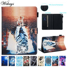 Wekays Cover Cartoon Leather Flip Stand Fundas Case For Coque Huawei Mediapad M3 Lite 8 inch CPN-L09 CPN-W09 CPN-AL00 Cover Case цена 2017