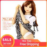 BK08 silikonowe płaskie nie ma piersi klatki piersiowej lalki realistyczne Mini Tpe 100cm rozmiar stałe Mini młodych silikon Sex lalki dla mężczyźni