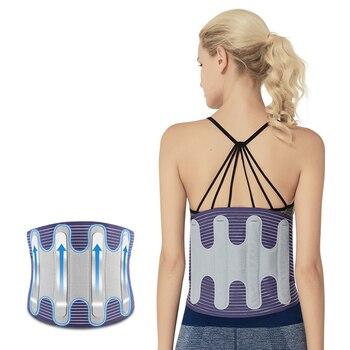 2019 Breathable Lumbar Corset Orthopedic Device Back Brace &Supports Medical Back Brace Men Women Belts Waist Belt Spine Support