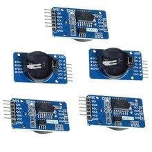 5 sztuk DS3231 zegar czasu rzeczywistego moduł RTC czujnik wysokiej precyzji AT24C32 IIC zegar budzik dla Arduino Raspberry Pi