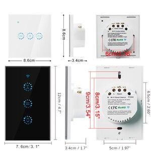 Image 4 - eWeLink EU US WiFi Curtain Blind Switch for Roller Shutter Electric motor Google Home Alexa Echo Voice Control DIY Smart Home