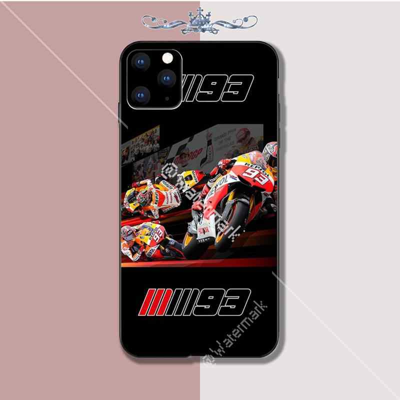 Marc Marquez Moto Gp 93 Luxury Phone Case Coque For Iphone 5s Se 2020 6 6s q50