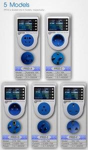 Image 2 - ZHURUI PR10 home power metering steckdose/home energy meter/strom meter/16 währung einheiten