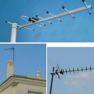 Image 5 - 4 4g lte八木アンテナ無線lan antena smaオス無線lan指向性アンテナ20dBi 4 3gルータアンテナ2500 2700と10メートルルータ