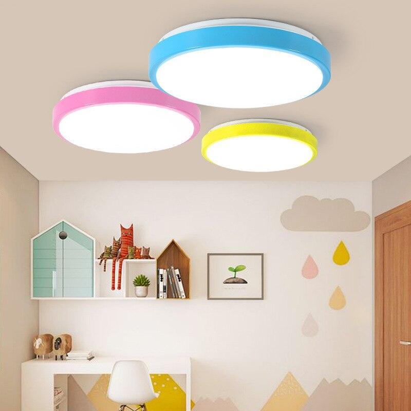 מודרני מינימליסטי סלון חדר שינה ספריית מסעדת מסדרון מרפסת LED צפון אירופאי סגנון מנורות Macarons Creative Cei