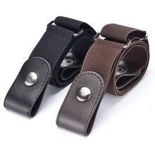 Cintura senza fibbia per pantaloni Jean, abiti, cintura elastica in vita senza fibbia per donna/uomo, senza rigonfiamento, senza cintura