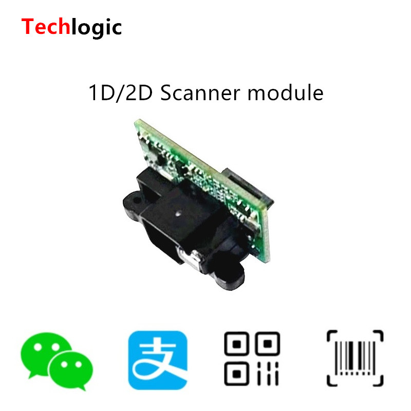 Techlogic 1D 2D Barcode Scanner Modul Embedded-Scan Motor Bar Code Reader Kopf 2D Feste Scannen Modul