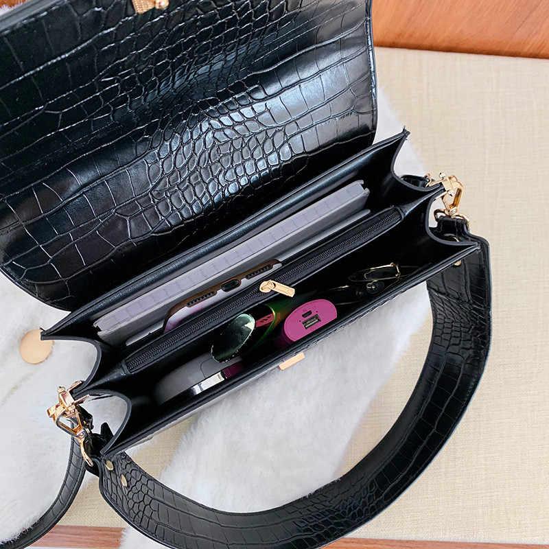 Wanita Messenger Tas Berkualitas Tinggi Cross Tubuh Tas Mini Kulit PU Perempuan Tas Bahu Tas Tangan Bolsas Feminina