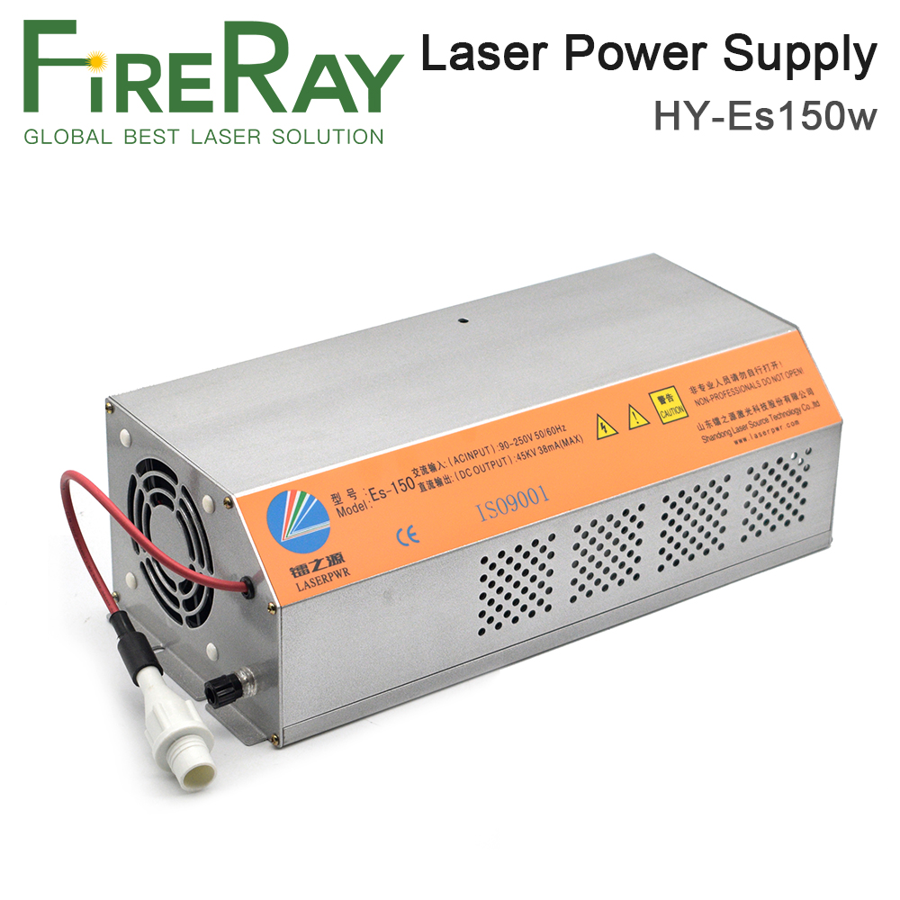 FireRay 150-180W HY-Es150 Es Series CO2 Laser Power Supply For CO2 Laser Engraving And Cutting Machine