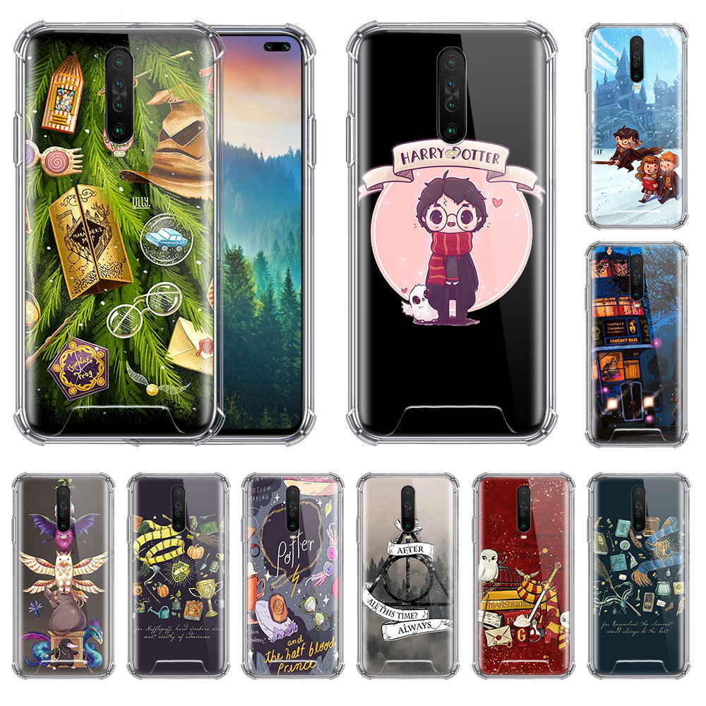 Always Hogwarts Comics Case For Xiaomi Redmi Note 8T 9 8 7 K20 Pro K30 7A 6 Airbag Anti Fall Phone Coque Soft Covers