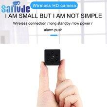 câmera espiã escondida Micro Wifi Mini câmera APP Monitor remoto Segurança doméstica 1080P Câmera IP IR Night Câmera magnética sem fio Dropship