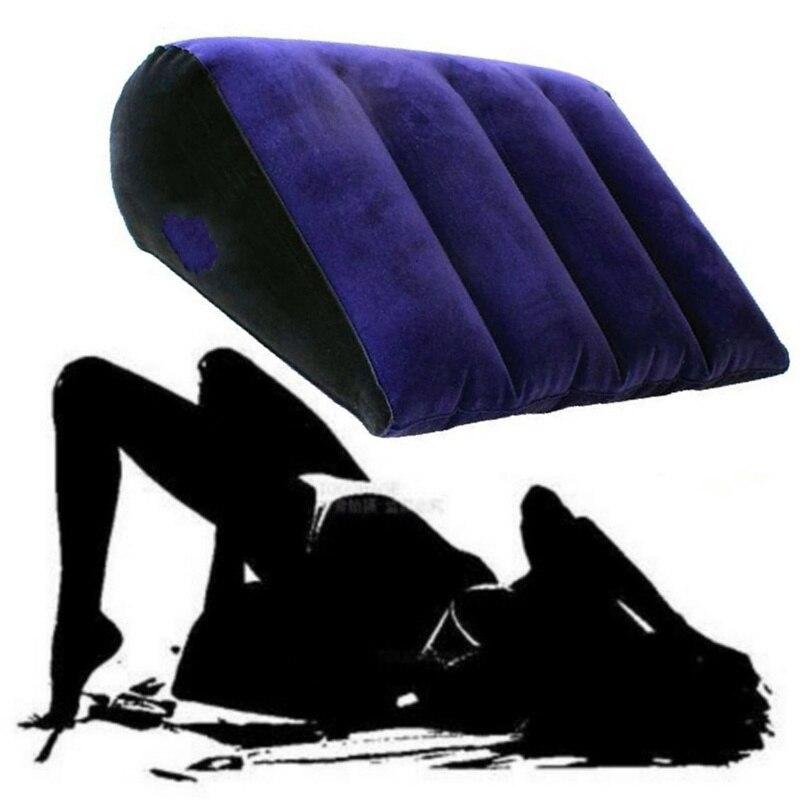 Надувная подушка для любви, волшебная кровать, клин для секса, поддержка положения тела, подушка, секс-мебель, Клин, игрушки для взрослых, игр...