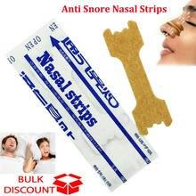Bandes nasales pour une meilleure respiration, 100 pièces, Anti-ronflement, pour dormir et respirer plus facilement, soins de santé