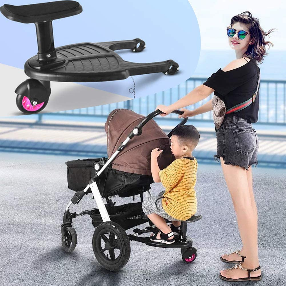 Baby Stroller Pedal Fixing Plate Twin Baby Stroller Accessories Outdoor Activity Board Baby Seat Standing Auxiliary Pedal