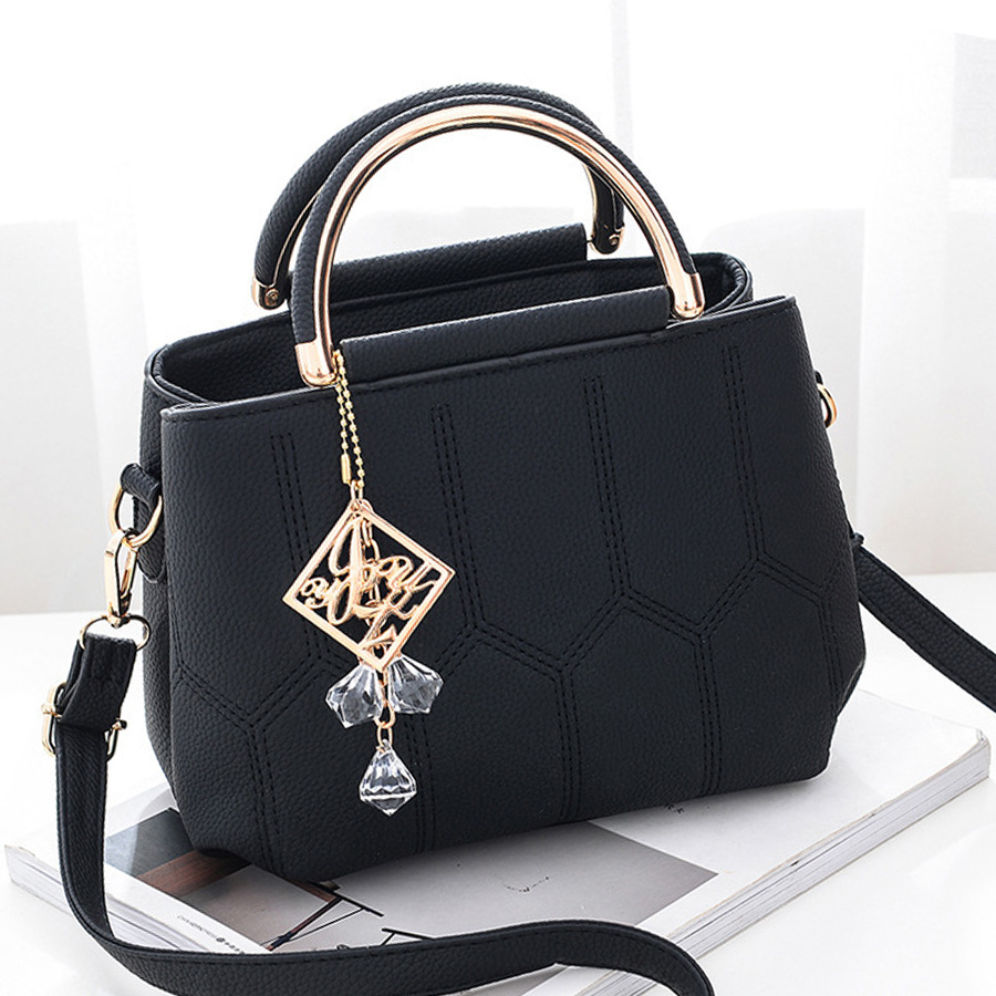 LAN LOU Women Bag  Shoulder Bag For Women 2019 High Quality Fashion Big Bag High-end Handbag Ladies Casual Messenger Bag