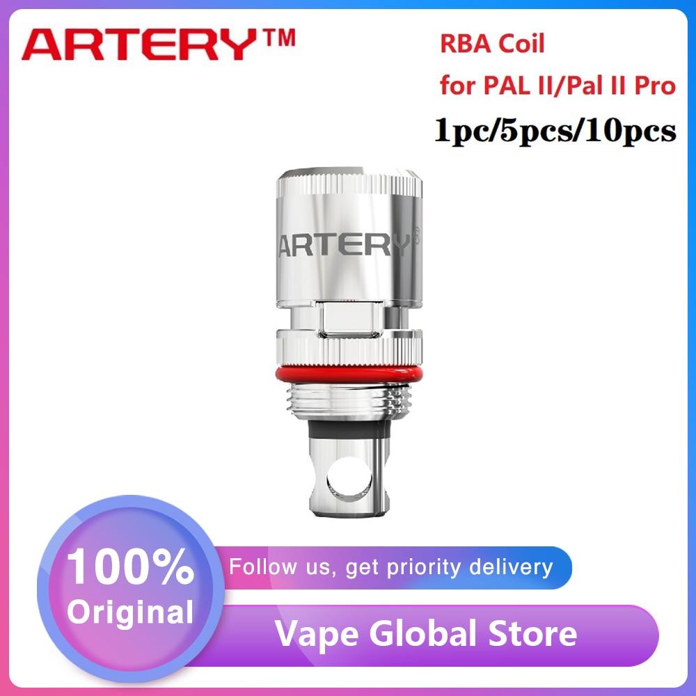 1pc 10pcs Original Artery RBA Coil For Artery Pal 2 Kit & Pal 2 Pro Kit 1pc/pack Electronic Cigarette Pal 2 RBA Coil Vs HP Coil