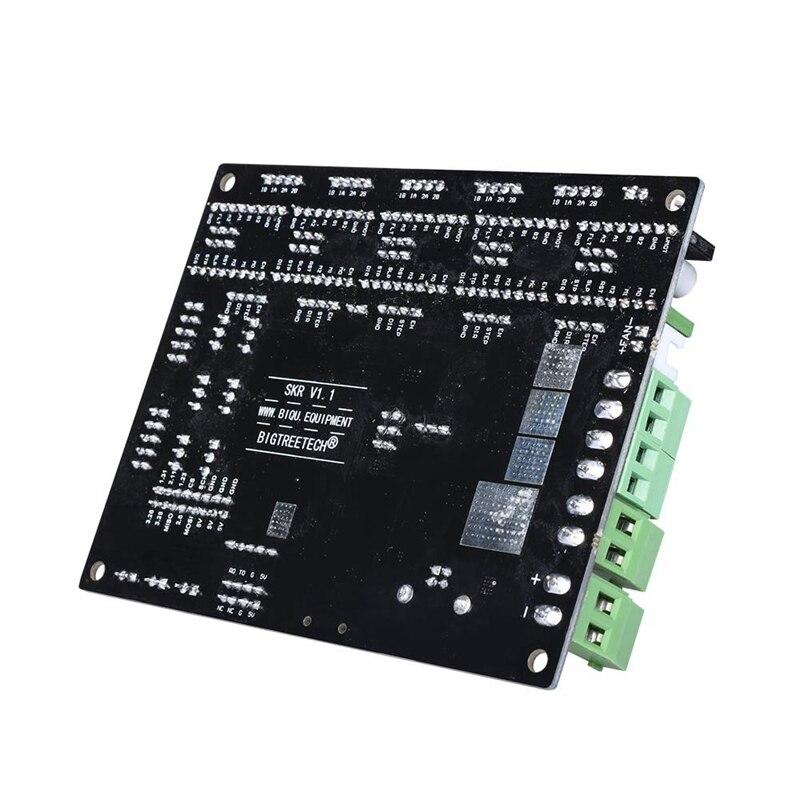 Bigtreetech Skr V1.1 + Tft3.5 + Tmc2130 carte de contrôle avec Arm Cpu carte de contrôle 32 bits logiciel de lisibilité Open Source pour imprimante 3D - 3