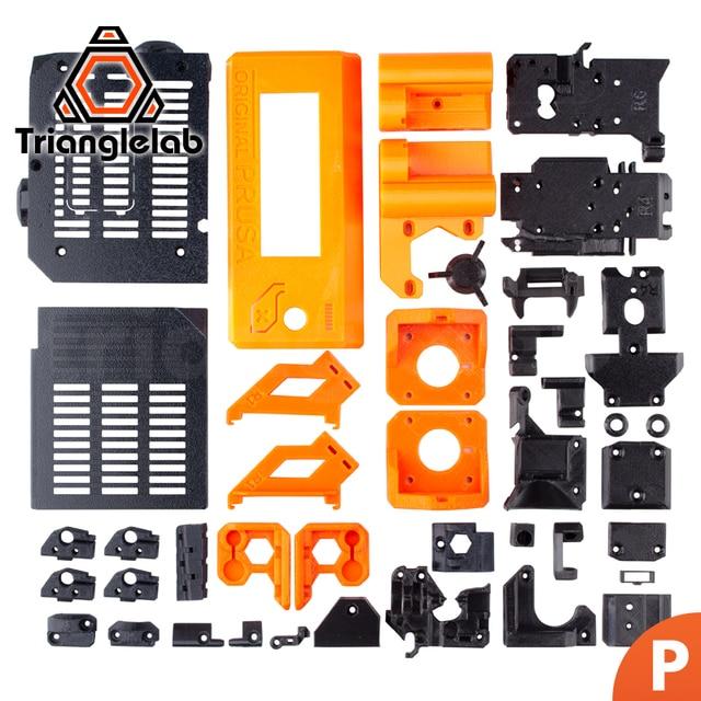TriangleLAB PETG المواد المطبوعة أجزاء ل Prusa i3 MK3S 3D طابعة كيت MK2/2.5 MK3 ترقية إلى MK3S