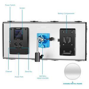 Image 2 - Neewer 1320 LED Luce Video con APP Sistema di Controllo Intelligente, dimmerabile 3200K 5600K Bi Fotografia a Colori Kit di Illuminazione