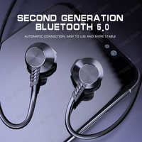 Langsdom Neckband Sport Bluetooth Kopfhörer L5B tragbare super Bass stereo mit Mikrofone Wireless gaming Headset L5 für musik