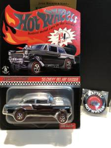 Model-Cars Metal Diecast Hot-Wheels Line CHEVY 55 Club Collector-Edition BEL Real-Riders