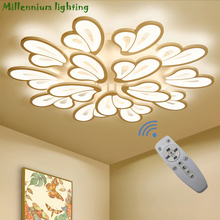 LED modern chandelier lights for living room bedroom light dining room lamp ceiling AC110-260V home light fixtures free delivery