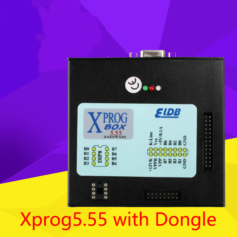 2019 Newest <font><b>XPROG</b></font>-M V5.5.5 X-PROG M BOX <font><b>V5.55</b></font> ECU Programmer with USB Dongle image
