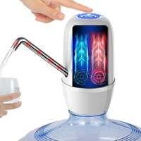 Dispensador De Agua Fria Electrico Embotellada Dispensador De Agua fría grifo eléctrico De doble bomba para una botella