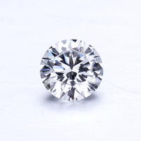 10pcs/pack small size 2.5mm 0.06 carat DF color VS VVS clarity EX cut HPHT lab grown diamond for ring