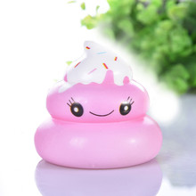 Simulation Squishies Kawaii Yummy Food Poo Slow Rising Cream Scented Stress Relief Toys Lovely Birthday Educational Toys 2021