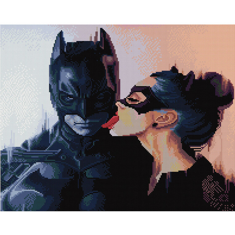 Diamond Mosaic APK 24059 Batman And Catwoman 40*50 Exclusive