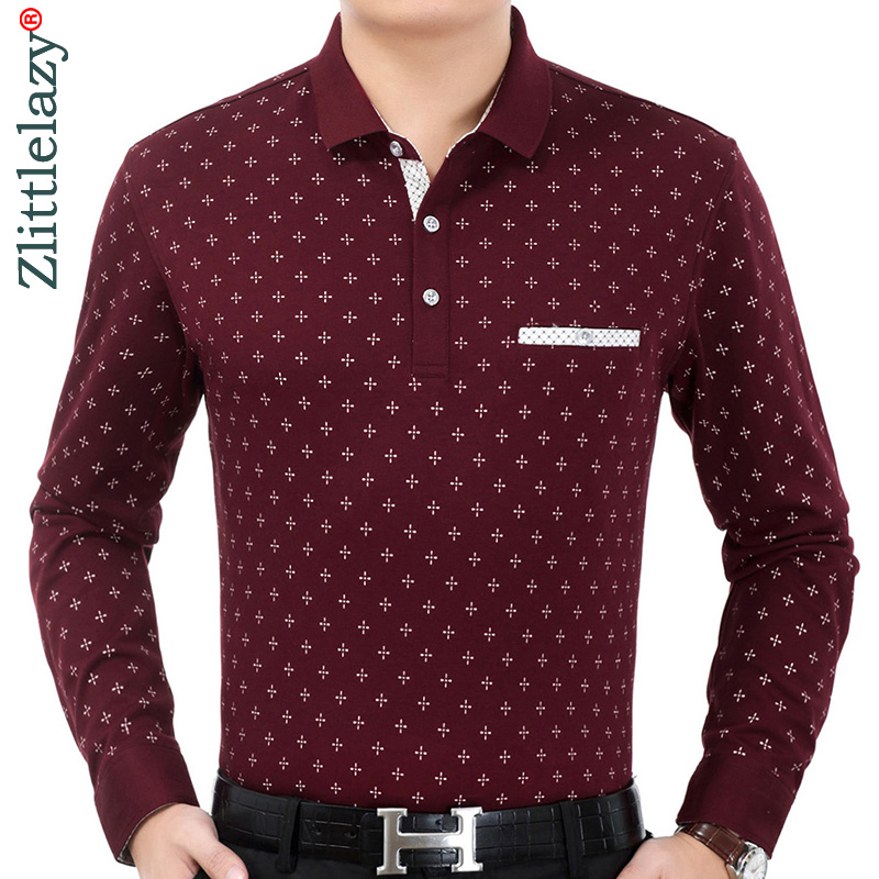 2019 Brand Casual Luxury Fitness Long Sleeve Polo Shirt Men Poloshirt Jersey Pocket Mens Polos Tee Shirts Dress Fashions 90331