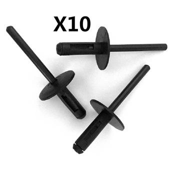 FOR BMW E90 E91 Z4 E85 E86 X3 X5 X6 BUMPER SKIRT SILL RIVET CLIPS x10 NEW REPAIR SET OE 51717002953 image