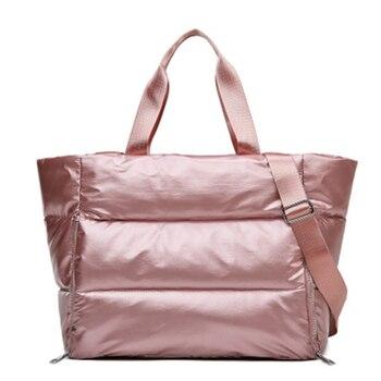 Winter New Large Capacity Shoulder Bag for Women Waterproof Swimming Handbag Yoga Bags Sports Gym Womens