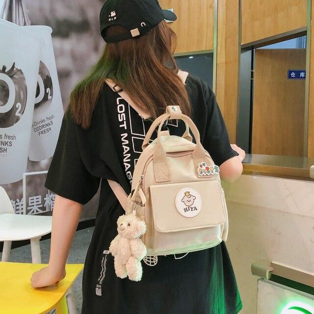 Feminino multifunction bags for women ins ferramentas na moda crossbody saco coreano japonês harajuku mochila pequena bolsa de ombro 2020 4